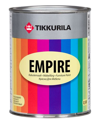 Краска для мебели Empire A TIKKURILA 0,9 л