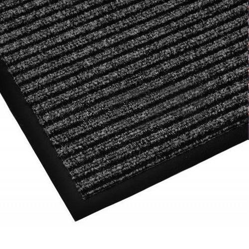 Дорожка грязезащитная на резиновой основе Lyon 1,2х25 м, серая